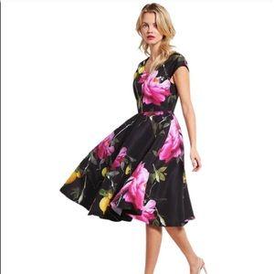 Ted Baker citrus bloom floral print dress